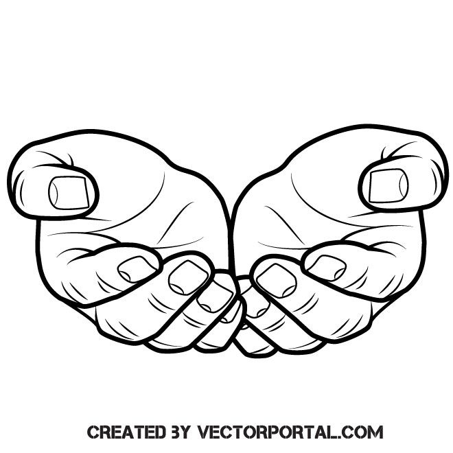 Serve Being God's Hands And Feet , Free Transparent Clipart - ClipartKey