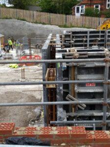 2021-05 Building Superstructure Begins