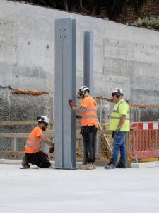 2021-08 Steel Frame Positioning