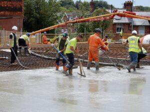2021-08 Concrete Pouring