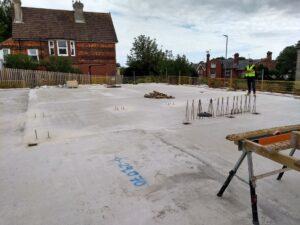 2021-09 First Floor Concrete Slab