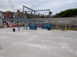 2021-09 Steel Frame Underway